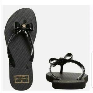 Kate Spade NY Women's Denise Bow Flip Flop Sandals